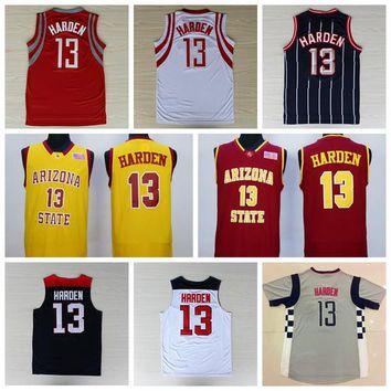Sale 13 James Harden Uniforms 2014 USA Dream Team One James Harden Jersey Shirt Christmas Chinese Throwback Red Pride Clutch City Red White
