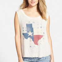 Junior Women's Ten Sixty Sherman 'Texas' Graphic Tank,