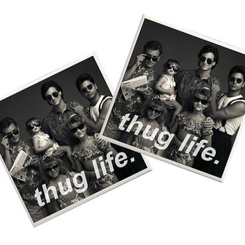 Full house Coasters, 80s tv shows, 90s tv shows, Full House stuff, home decor, Thug Life, Mary Kate and Ashley, Uncle Jesse, Danny Tanner