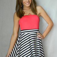 Anchors Away Dress | Girly Girl Boutique