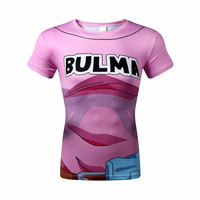 Bulma dragon ball z shirts