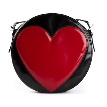 Moschino Vintage Heart Cross Body Bag