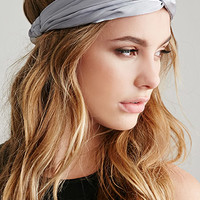 Two-Tone Satin Headwrap