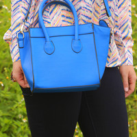 Little Blue Purse: Royal Blue - One