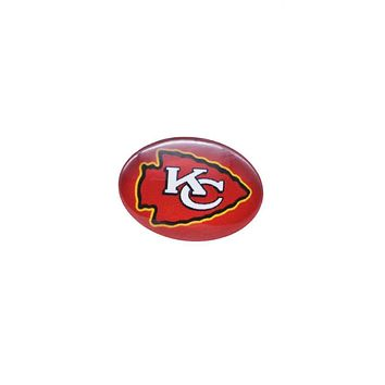 Snap Button 18mmX25mm Kansas City Chiefs Charms Snaps Bracelet for Women Men Football Fans Gift Paty Birthday Fashion 2017