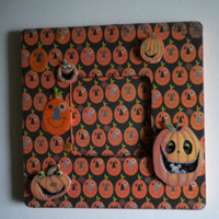 Pumpkins Picture Frame, Halloween Picture Frame