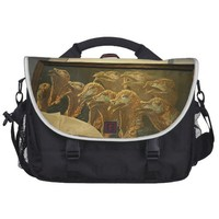 Antique Thanksgiving Turkey Laptop Computer Bag from Zazzle