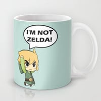 I'm not Zelda! (link from legend of zelda) Mug by TxzDesign
