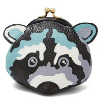 Fossil Raccoon Frame Coin Pouch | Dillards