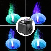 2017 Submersible Water Pump With 12 LED lights