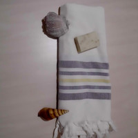 Turkish bath and beach towels bridesmaid gift  exclusive quality %100 pure cotton yogo spa fouta