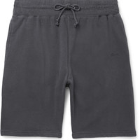 Stüssy - Stock Loopback Cotton-Jersey Shorts