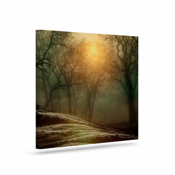 "Viviana Gonzalez ""From Small Beginnings And Big"" Green Nature Canvas Art"