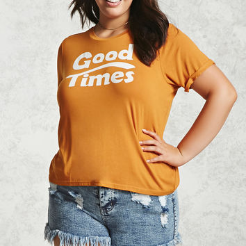 Plus Size Good Times Tee