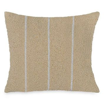 Donna Karan New York 'Moonscape' Beaded Accent Pillow