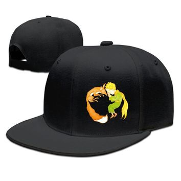 The Little Prince And The Fox Breathable Unisex Adult Womens Snapback Caps Mens Hip-hop Caps