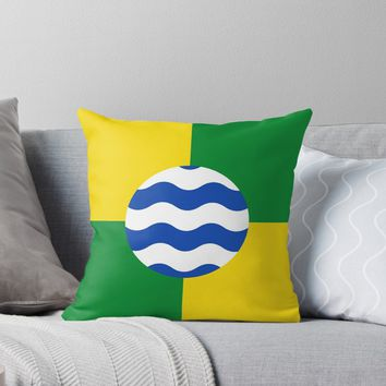 'NAIROBI FLAG' Throw Pillow by planetterra