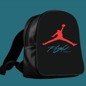 Air Jordan Flight for Backpack / Custom Bag / School Bag / Children Bag / Custom Schoo