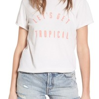 Sincerely Jules Tropical Graphic Tee | Nordstrom