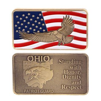 Ohio Patriot Guard Challenge Coin