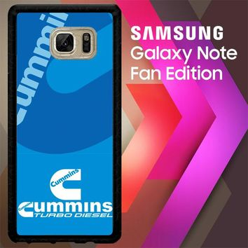 Cummins Turbo Diesel X3463 Samsung Galaxy Note FE Fan Edition Case