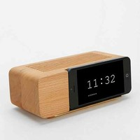 AREAWARE iPhone 5/5s Alarm Clock Dock- Brown One
