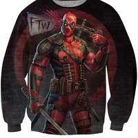 Deadpool Crewneck Sweatshirt