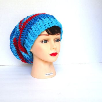 Crochet slouchy hat, crochet beanie hat, womens hat, slouchy beanie, fall hat, winter beanie, christmas gift, ready to ship