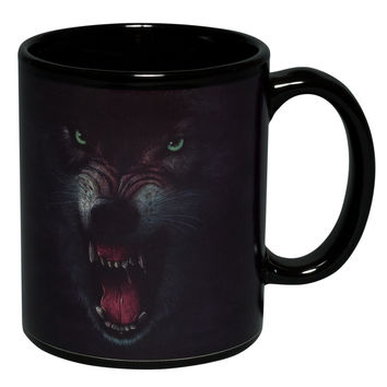 Growling Wolf Coffee Mug