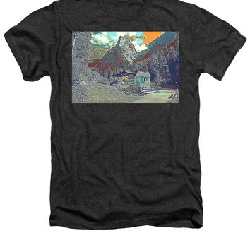 Swiss Alps - Heathers T-Shirt