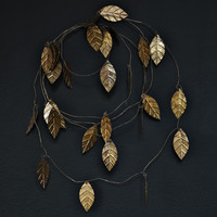 GOLD LEAF GARLAND - LARGE | Fossik