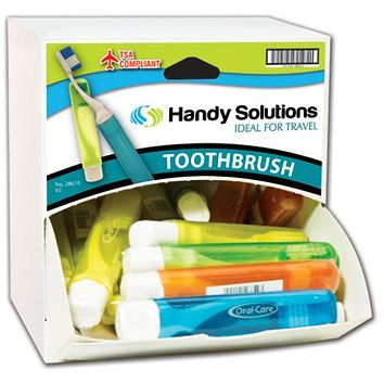 Handy Solutions Travel Toothbrush Dispensit Case Case Pack 216
