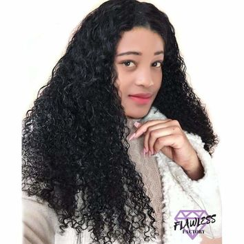 Peruvian Water Wave Lace Front Wig