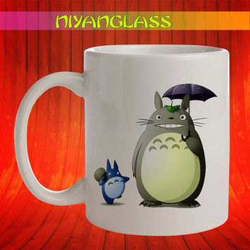 Totoro and Friends mug, Totoro and Friends cup, Totoro and Friend mugs, Totoro and Friend personalized cup, funny mugs, birthday ceramic mug