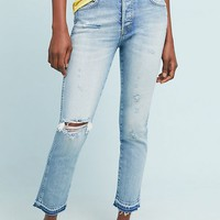 AMO Babe High-Rise Skinny Ankle Jeans