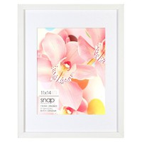 Snap Single Image Frame - White