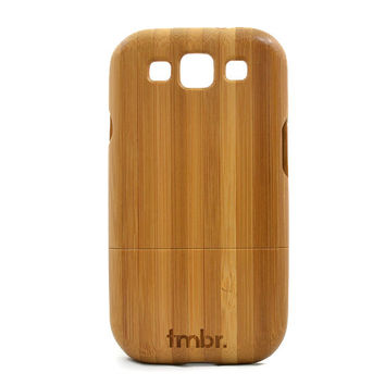 ON SALE Samsung Galaxy S3 Bamboo Wood Case - Real Bamboo Wood Samsung gs3 i9300 Case