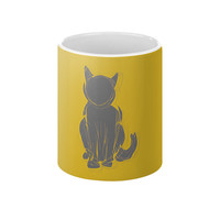 Cat Silhouette Coffee Mug