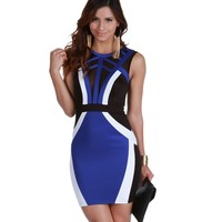 Royal Hey Diva Bodycon Dress
