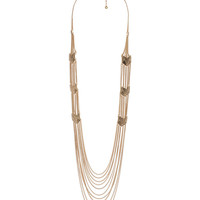 Chained Arrowhead Necklace | FOREVER21 - 1012301639