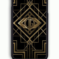 iPhone 6 Case - Rubber (TPU) Cover with Great Gatsby  Rubber Case Design