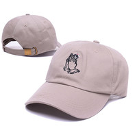 RIPNDIP 6 god Cat Praying Hands OVO Drake October's Very Own Tan Baseball Cap Hip Hop Strapback Snapback Hat