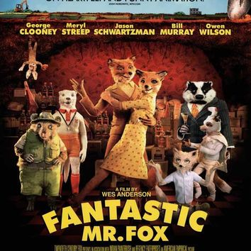 Fantastic Mr. Fox 27x40 Movie Poster (2009)
