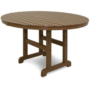 "Trex Outdoor Furniture Monterey Bay Round 48"" Dining Table"