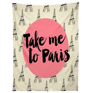 Take Me To Paris Tapestry