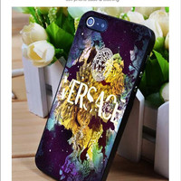 Versace flower art iPhone for 4 5 5c 6 Plus Case, Samsung Galaxy for S3 S4 S5 Note 3 4 Case, iPod for 4 5 Case, HtC One for M7 M8 and Nexus Case