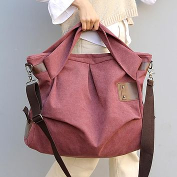 KVKY City Style Canvas Messenger Bag