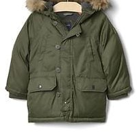 Warmest down snorkel parka | Gap