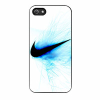 Nike Logo Blue Fire iPhone 5s Case