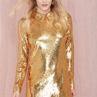 Nasty Gal Impulse Sequin Dress